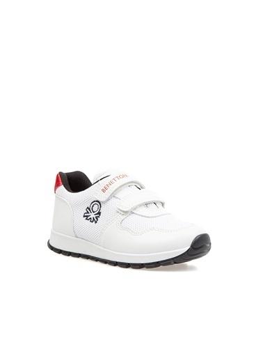 Benetton Bn30023 Çocuk Spor Ayakkabı Beyaz
